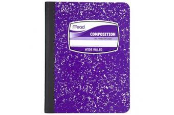 (Purple) - Mead Composition Book, Notebook, Wide Ruled, 25cm x 19cm , Purple (72247)