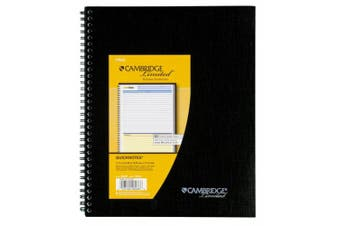 (1 Pack) - Mead Cambridge Limited QuickNotes Business Notebook (6066)