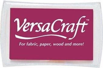 (Burgundy) - Versacraft Ink Pads for Stamps, Burgundy