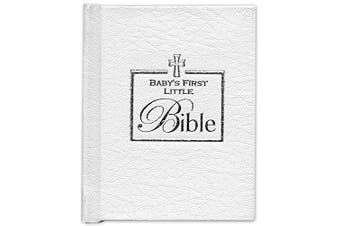 (White) - Brownlow Gifts Baby's First Bible, White