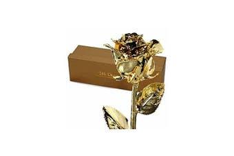 24k Gold Dipped Real Rose