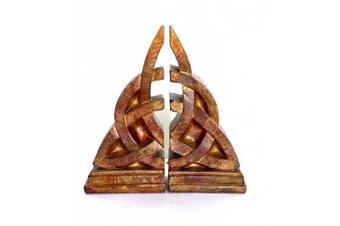 Bellaa Bookends Decorative Mystical Celtic Knot Design