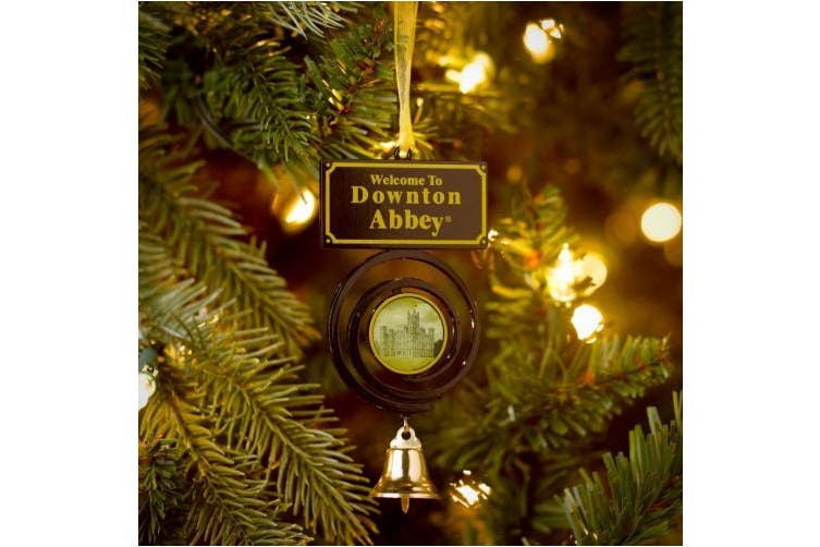 Downton Abbey Pull Bell Ornament, 12cm