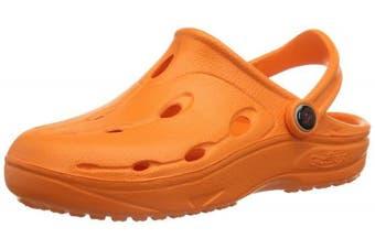 (24/25, Orange (orange)) - Chung Shi DUX Kids'orange Clogs And Mules Unisex Kids'