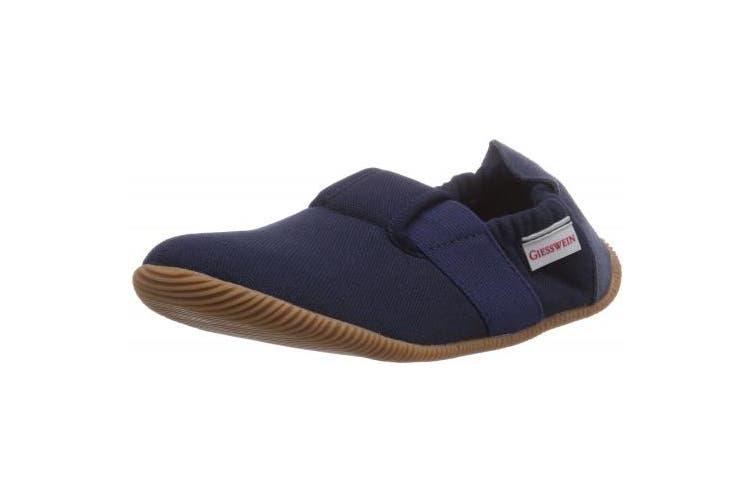 (11 UK, Blue (Dk.Blau/548)) - Giesswein Söll - Slim Fit, Boys Low-Top Slippers