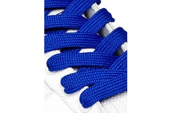 (91cm, Royal Blue) - Big Laces 13mm wide Flat Shoelaces - Variety of Colours