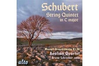 Schubert: String Quintet in C major; Mozart: Divertimento, K. 136