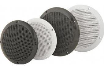 (80W - 8ohms) - Water Resistant 13cm Speakers - White, 80W max, 8 ohms