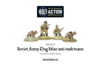 Warlord Games, Soviet Anti-Tank Dog Teams, 28mm Bolt Action Wargaming Miniatures