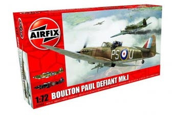 Airfix A02069 Boulton Paul Defiant MK I Plastic Model Kit (1:72nd Scale)