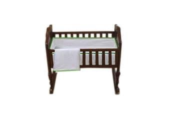 (Green Apple) - Baby Doll Forever Mine Junior Cradle Bedding Set, Green Apple