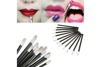 (100 Wands) - 5starwarehouse® Disposable LIP GLOSS Wands Lipstick Brushes Makeup Extension Applicator Lipstick Spoolers (100 Wands)