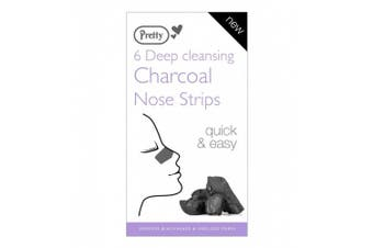 Pretty Deep Nose Cleansing Charcoal Pore Strips 1 x 6