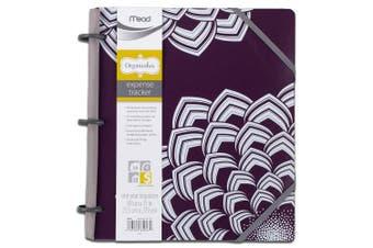 Mead Organizher Expense Tracker, 22cm x 28cm , Purple Poly (64047)