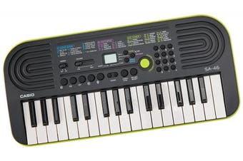 (Keyboard, 32-Key, Green) - Casio SA-46 -Key Portable Keyboard