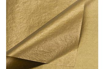 Metallic GOLD Tissue Paper 20 X 30 - 24 Sheets