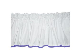 (Lavender) - Baby Doll Forever Mine Junior Window Valance, Lavender