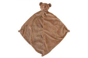 (Brown Bear) - Angel Dear Baby Blankie Brown Bear