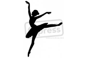 A5 Ballerina Wall Stencil / Template
