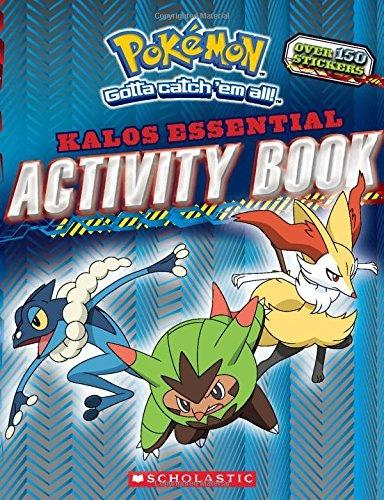 Pokemon: Kalos Essential Activity Book (Pokemon) (Pokemon (Scholastic)) Games, puzzles, activities, stats, facts, and much more! It's the ultimate activity book for Pokemon fans.