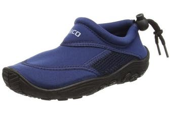 (Blue, 29 EU) - Beco children's surf and swimming shoe, 92171