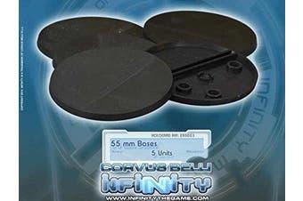 Infinity Bases 55mm (5) Miniature Game Corvus Belli
