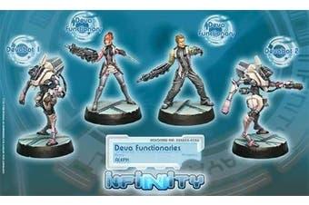 Synchronised Deva Unit (4) Aleph Infinity Corvus Belli