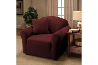 (Chair, Ruby) - Elegant Comfort® Furniture Jersey STRETCH SLIP-COVER, Chair Ruby