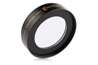 (Canon EOS) - Opteka Achromatic 10x Diopter Close-Up Macro Lens for Canon EOS 70D, 60D, 60Da, 50D, 1Ds, 7D, 6D, 5D, 5DS, Rebel T6s, T6i, T5i, T5, T4i, T3i, T3, T2i and SL1 Digital SLR Cameras (Fits 52mm and 58mm Threaded Lenses)