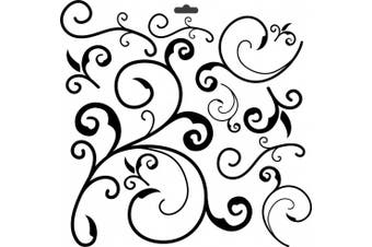 (1, 12''x12'') - Crafters Workshop Crafter's Workshop Template, 30cm by 30cm , Capricious