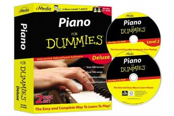 (PC/Mac Disc) - Piano For Dummies Deluxe