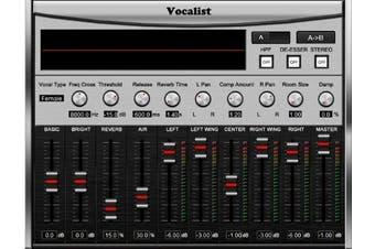 Sound Magic VOCALIST-01 Vocalist Audio Plug In Software