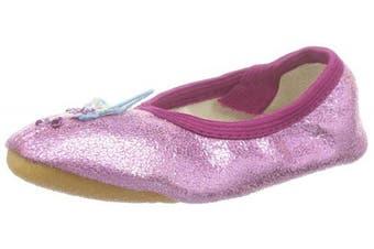 (7 UK Child, Pink - Pink (pink 06)) - Beck Girls' Fee Gym shoes