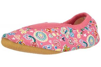 (13 UK Child, Pink - Pink (pink  06)) - Beck Girls' Happy, Rist Gym shoes