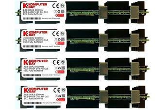 (8GB (4X 2GB) Mac HS 800MHz) - Komputerbay 8GB (4x 2GB) 240 Pin 800MHz PC2-6400F ECC Fully Buffered 2Rx 4 DDR2 FB-DIMM with Heatspreaders for Apple Mac Computers