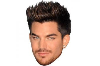 Adam Lambert Mask, Cardboard Face and Fancy Dress Mask