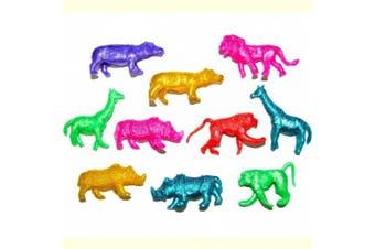 10 Stretchy Jungle Animal Toys