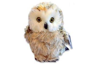 Large Fluffy Owl Cuddly Toy 28cm
