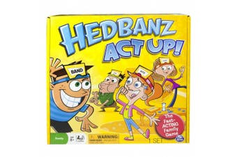 Spin Master Hedbanz Act-Up Game