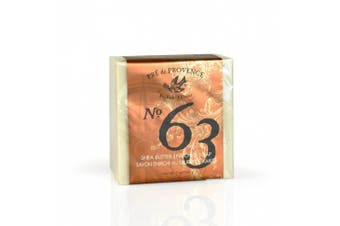 (200 Gram Soap Cube) - Pre de Provence Aromatic, Warm and Spicy, No. 63 Men's 200 Gramme Cube Soap