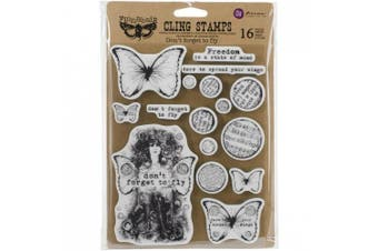 (forgettofly) - Finnabair Cling Stamps 15cm x 19cm