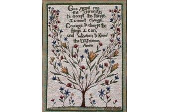 (33cm  by 46cm , Serenity Prayer by Cindy Shamp) - Manual Inspirational Collection Wall Hanging, Serenity Prayer X Cindy Shamp, 33cm X 46cm