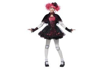 (X-Large) - California Costumes Victorian Doll Child Costume, X-Large