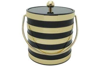 (Black) - Mr. Ice Bucket Barrel 2.8l Ice Bucket, Black