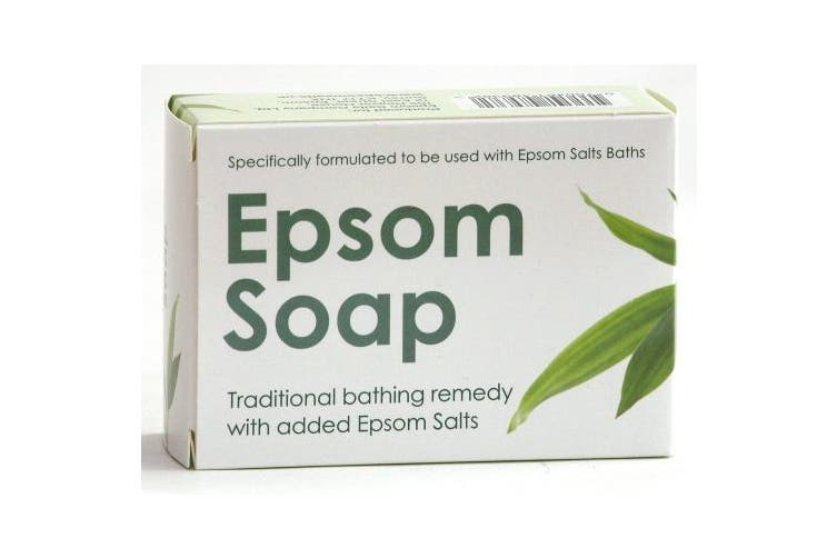 Epsom Soap - Specifically formulated to be used with Epsom Salts Baths - Free Next Day delivery