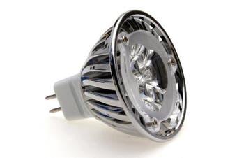(Warm White) - Lumilife 3 Watt MR16 LED Bulb - Directional Beam Angle - Warm White