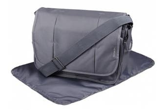 Clair de Lune Oxford Changing Bag (Slate)