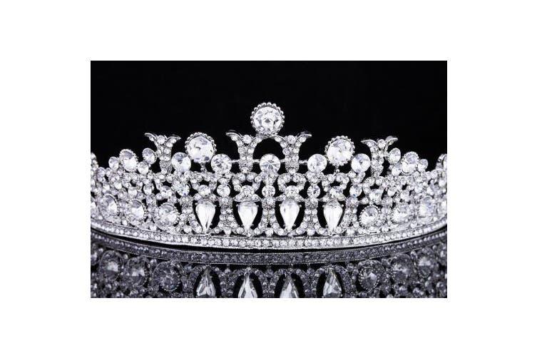 Bridal Pageant Rhinestone Crystal Wedding Prom Tiara Crown T985