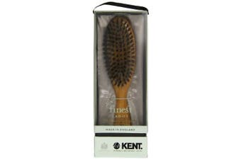 Kent Brushes Oval Cherry Wood Hairbrush, LC22, 180ml by Kent Brushes