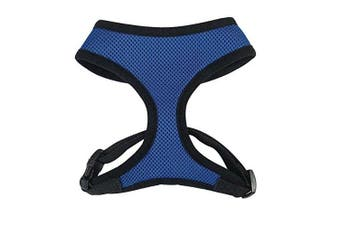 (s, Green) - Casual Canine Mesh Dog Harness